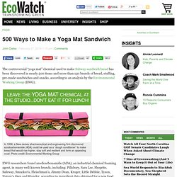 500 Ways to Make a Yoga Mat Sandwich