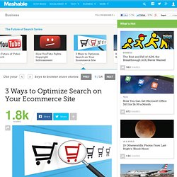 3 Ways to Optimize Search on Your Ecommerce Site
