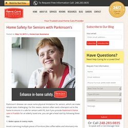 7 Ways to Make the Home Safer for Seniors with Parkinson's