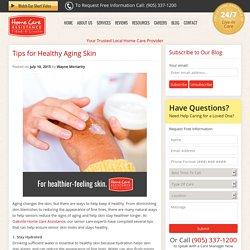 5 Ways for Seniors to Get Glowing Skin