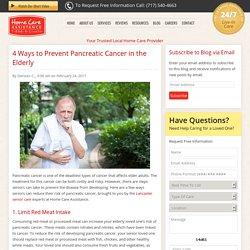4 Ways Seniors Can Keep Pancreatic Cancer at Bay