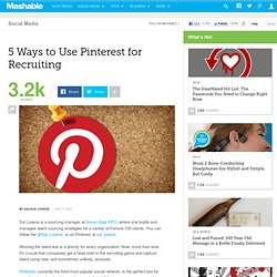 5 Ways to Use Pinterest For Recruiting - Aurora