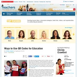 Ways to Use QR Codes for Education