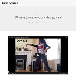10 ways to make your video go viral