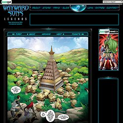Wayward Sons: Legends - Sci-Fi Full Page Webcomic - Updates Daily