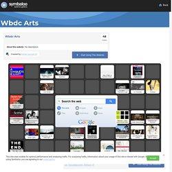 Webdoc sur les Arts - Symbaloo Gallery