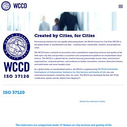 WCCD — World Council on City Data
