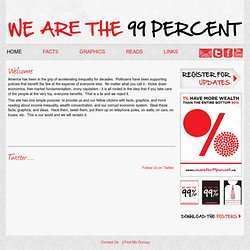 We are the 99 Percent - Home