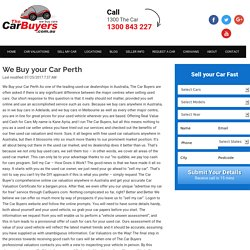 We Buy your Car Perth - The Car Buyers
