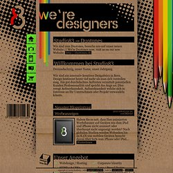 We're Designers - Studio83