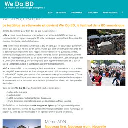We Do BD, c'est quoi ?