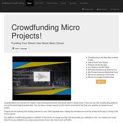we$hareCrowdfunding