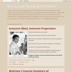 We are perfect Buddha Mind