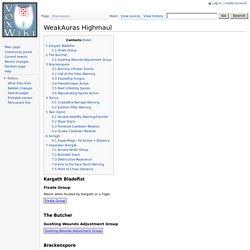 WeakAuras Highmaul - VoxWiki