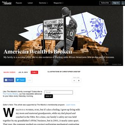 The Wealth Gap Taints America's Success Stories