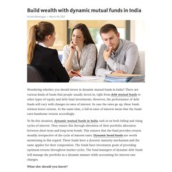 Build wealth with dynamic mutual funds in India