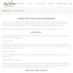 Wealth Management and Cash Management Service in Gold Coast - Zenon Group