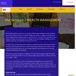 Top Wealth Management Firm in New Zealand - Willor Trust