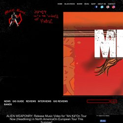 """ALIEN WEAPONRY: Release Music Video for """"Ahi Kā""""On Tour Now (Headlining) in North AmericaOn European Tour This Summer!"""