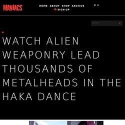 Watch Alien Weaponry Lead Thousands of Metalheads in the Haka Dance