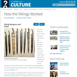 Viking Weapons and Ships - How the Vikings Worked