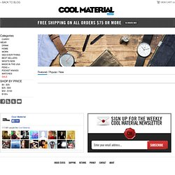 Wear - Shop Cool Material