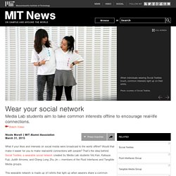 Wear your social network