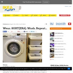 Wear. SORT(ERA). Wash. Repeat...