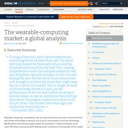 The wearable-computing market: a global analysis