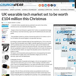 UK wearable tech market set to be worth £104 million this Christmas