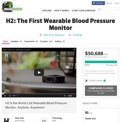 H2: The First Wearable Blood Pressure Monitor