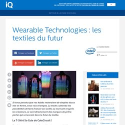 iQ – Wearable Technologies : les textiles du futur