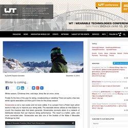 Wearable Technologies For Winter Sports
