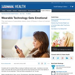 Wearable Technology Can Now Detect Your Emotions