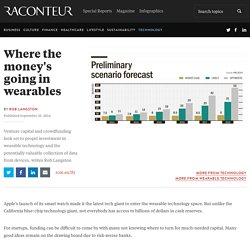 Where's the money going in wearable technology – raconteur.net