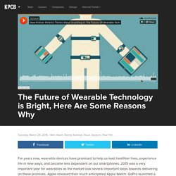 The Future of Wearable Technology is Bright, Here Are Some Reasons Why