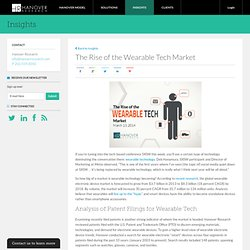 The Rise of the Wearable Technology Market