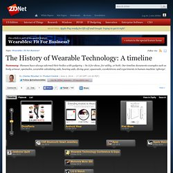 The History of Wearable Technology: A timeline
