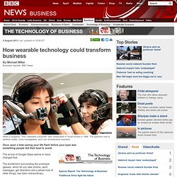 How wearable technology could transform business