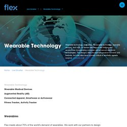 Wearable Technology - Wearables - Wearable Tech