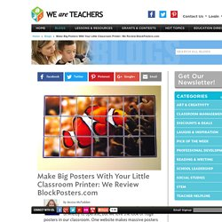 WeAreTeachers Reviews BlockPosters.com