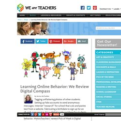 WeAreTeachers Reviews Digital Compass Game