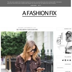 A FASHION FIX // UK FASHION AND LIFESTYLE BLOG