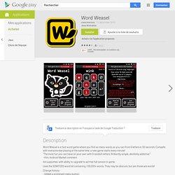Word Weasel