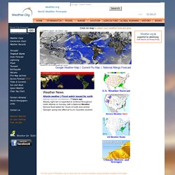 Weather.Org | World Weather Forecast and Climate History