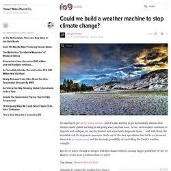 weather change machine