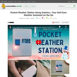 Your Self-Care Weather Assistant on the Go : 12 Steps