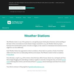 Weather Stations — The Wheeler Centre