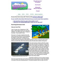 Web Weather for Kids: Surviving Hurricane Carla