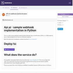 api-ai/apiai-weather-webhook-sample - Buttons - Heroku Elements